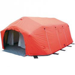 Airshelter XI, Farbe Rot   30m²