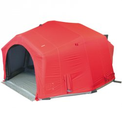 Airshelter IV, Farbe Rot  47m²