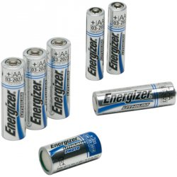 Lithium-Batterie Micro/AAA/L92, 1,5 V auf Karte