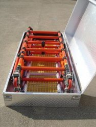 Alu-Transportbox Rettungsplattform Quick-Base